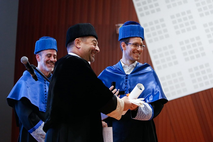 Honorary doctoral degree on the Italian mathematician Alessio Figalli
