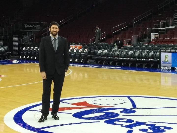 Sergi Oliva, new assistant coach of the Utah Jazz